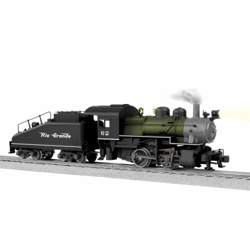 Lionel LNL84965 O Scale Rio Grande No.62 LionChief Plus A5 Model Train with Bluetooth Perspective: front