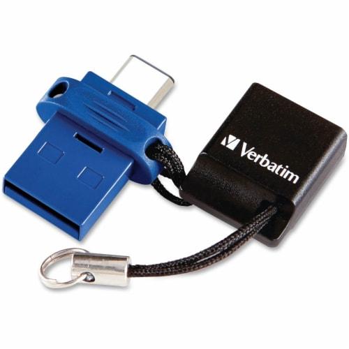 Verbatim Store 'n' Go Dual Flash Drive 99154 Perspective: front