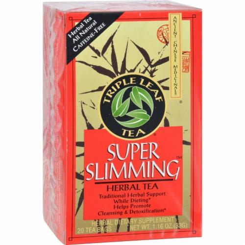 Triple Leaf Super Slimming Herbal Tea Perspective: front