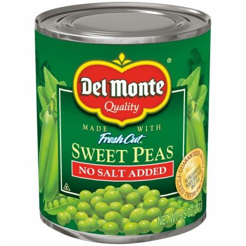 Del Monte No Salt Added Sweet Peas Perspective: front