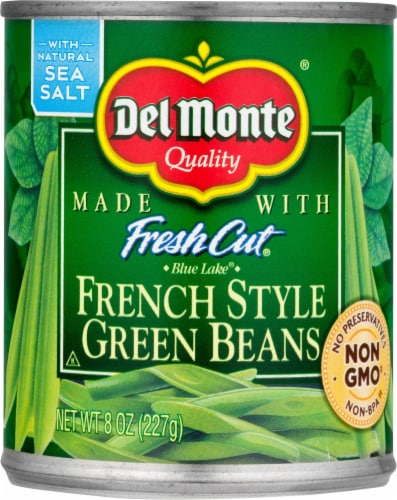 Del Monte Fresh Cut French Style Green Beans Perspective: front