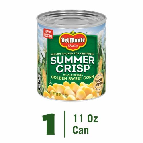 Del Monte Summer Crisp Whole Kernel Golden Sweet Corn Perspective: front