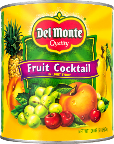 Del Monte Fruit Cocktail in Light Syrup Perspective: front