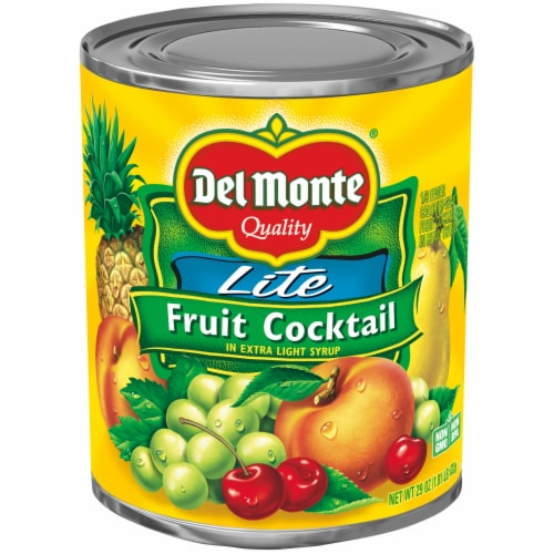 Del Monte Lite Fruit Cocktail Perspective: front