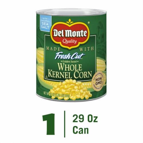 Del Monte Golden Sweet Whole Kernel Corn Perspective: front