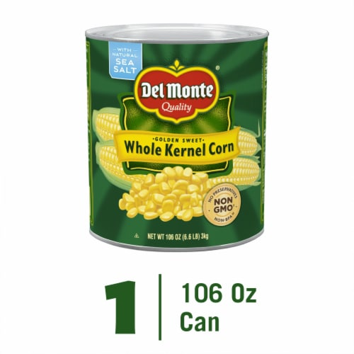 Del Monte Golden Sweet Whole Kernel Corn Perspective: front