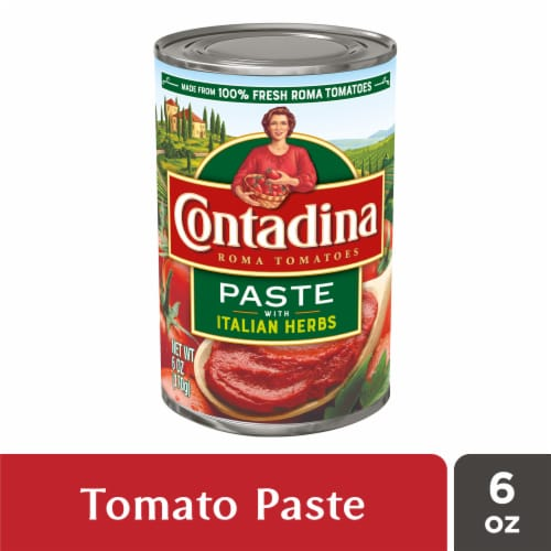 Contadina Italian Herb Tomato Paste Perspective: front