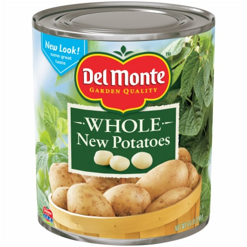 Del Monte Whole New Potatoes Perspective: front