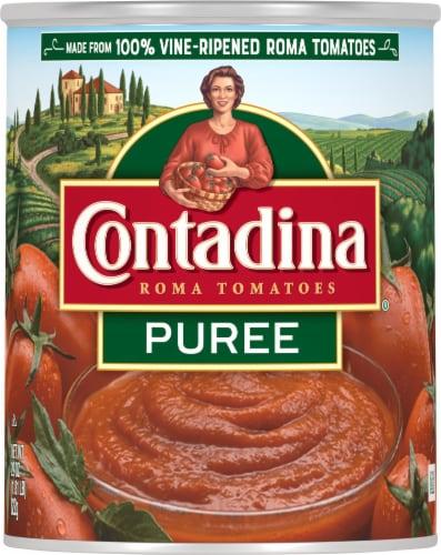 Contadina® Roma Tomato Puree Perspective: front