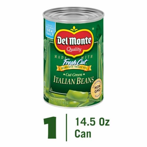 Del Monte Fresh Cut Italian Beans Perspective: front