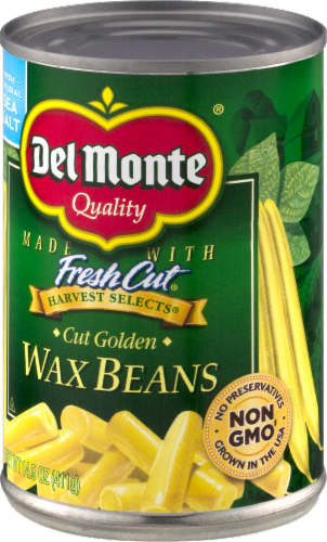 Del Monte Specialty Cut Wax Beans Perspective: front