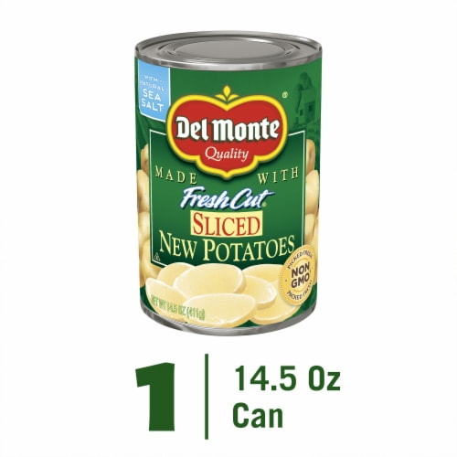 Del Monte Fresh Cut Sliced New Potatoes Perspective: front