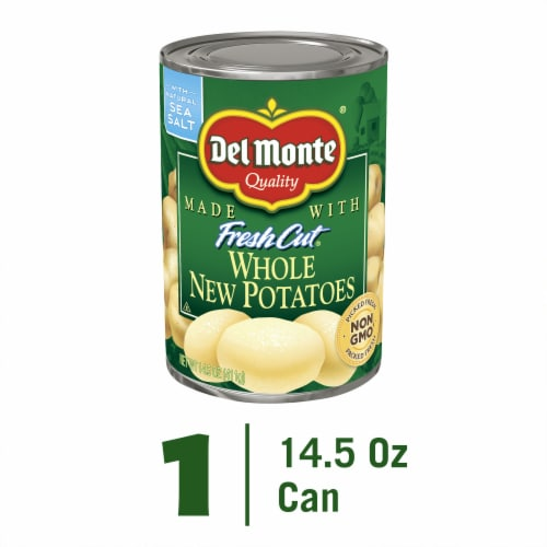 Del Monte Fresh Cut Whole New Potatoes Perspective: front
