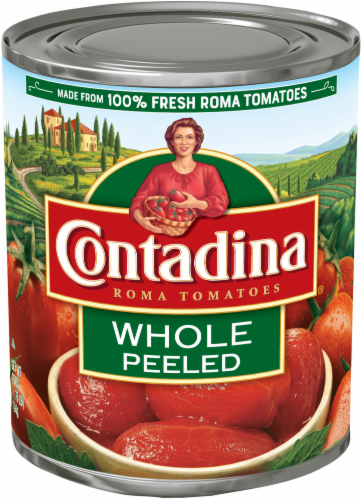 Contadina Whole Peeled Tomatoes Perspective: front