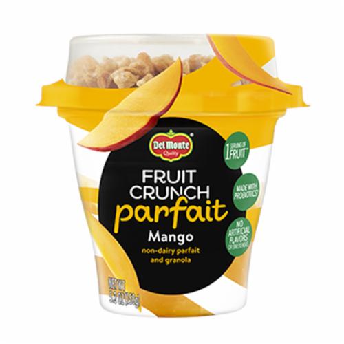 Del Monte Fruit Crunch Mango Parfait Perspective: front