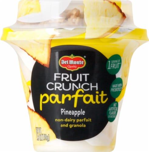 Del Monte Fruit Crunch Pineapple Coconut Parfait Perspective: front