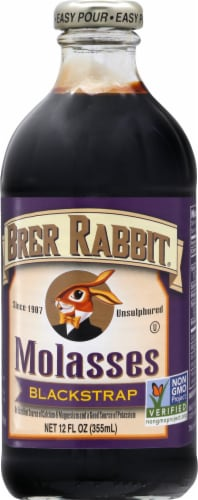 Brer Rabbit Blackstrap Molasses Perspective: front