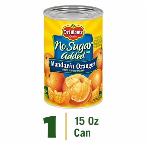 Del Monte No Sugar Added Mandarin Oranges Perspective: front