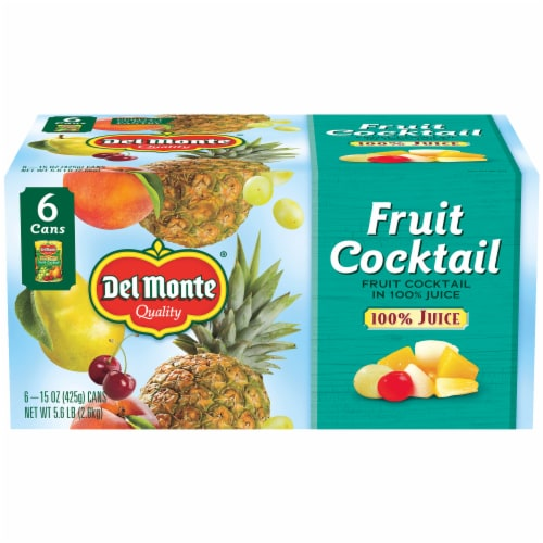 Del Monte Fruit Cocktail in 100% Juice Perspective: front