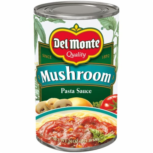 Del Monte Mushroom Pasta Sauce Perspective: front