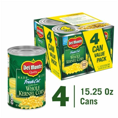 Del Monte Fresh Cut Whole Kernel Corn Value Pack Perspective: front