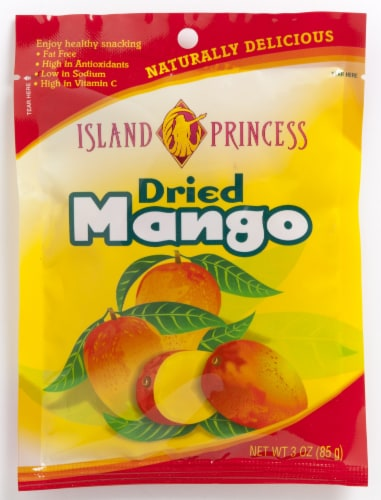 Island Princess Dried Mango Perspective: front