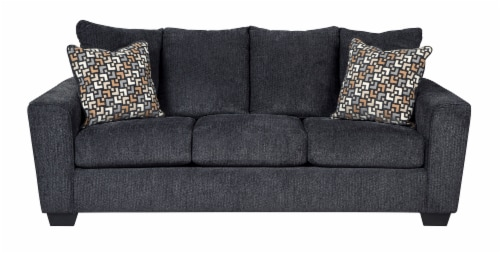 Signature Design by Ashley Cara Sofa - Gray Perspective: front