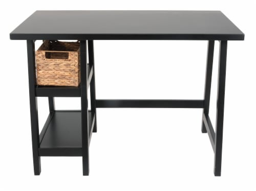 Signature Design by Ashley Mirimyn Desk - Black Perspective: front