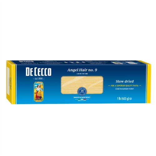De Cecco Angel Hair Pasta Perspective: front