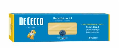 De Cecco Bucatini Perspective: front