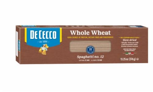 De Cecco Whole Wheat Spaghetti Perspective: front