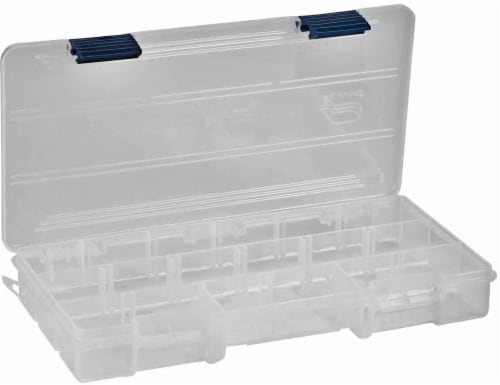 Plano Stowaway 9-Compartment Utility Box - Transparent Perspective: front