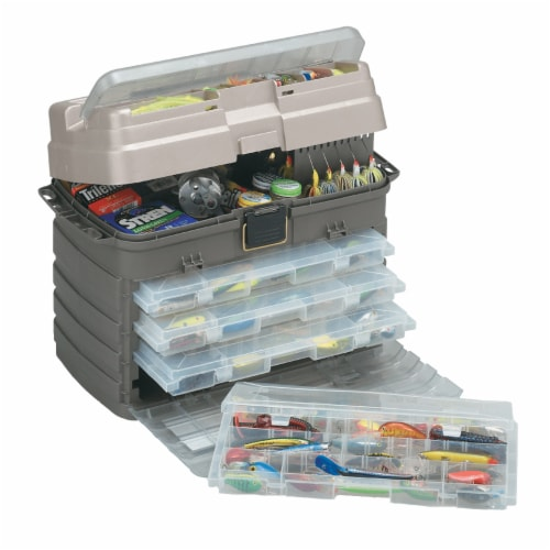 Plano Guide Series StowAway Rack Drawer System Tackle Box for Fishing Storage Perspective: front