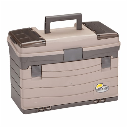 Plano Guide Series Drawer Utility Tackle Box Case Organizer for Fishing Storage Perspective: front
