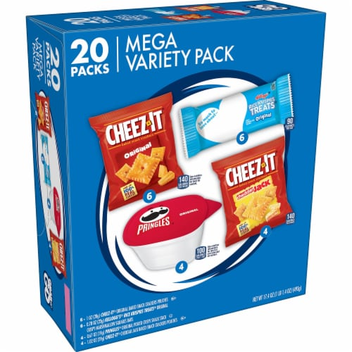 Kellogg's Mega Variety Pack Perspective: front