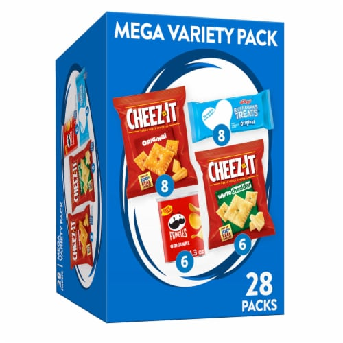 Cheez-It Snack Mega Variety Pack Perspective: front
