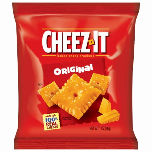 Cheez-It Original Cheese Crackers Multi-Pack Perspective: front
