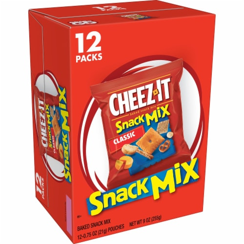 Cheez-It Caddies Crackers Snack Mix 12 Count Perspective: front