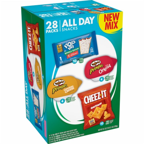 Kellogg's All Day Snacks Variety Pack Perspective: front