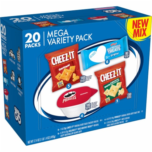 Kellogg's Mega Snacks Variety Pack Perspective: front