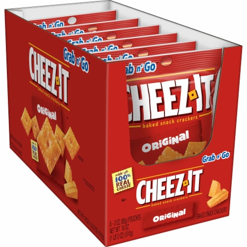 Cheez-It® Original Crackers Perspective: front