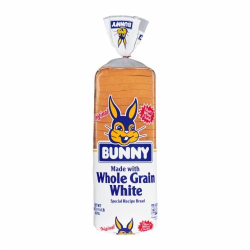 Bunny Whole Grain White Bread Perspective: front