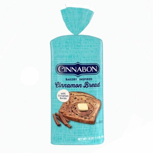Cinnabon Cinnamon Bread Perspective: front