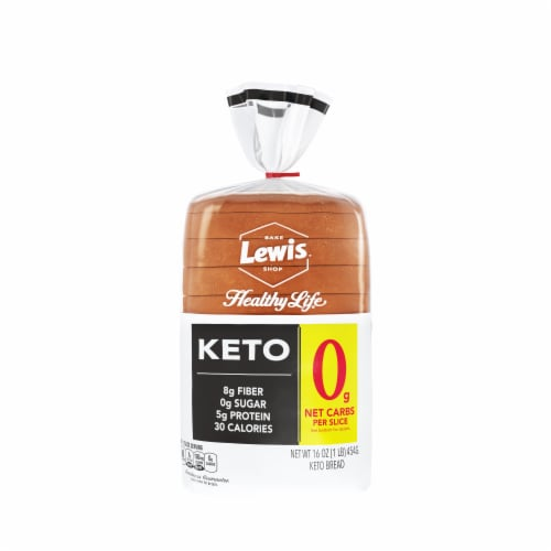 Lewis Bake Shop Healthy Life Keto Bread Perspective: front
