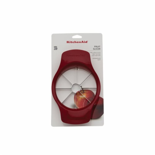 KitchenAid Fruit Slicer - Red Perspective: front