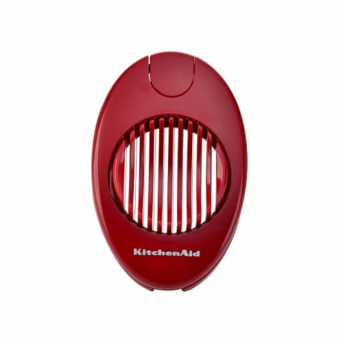 KitchenAid KE135OHERA Classic Egg Slicer - Red Perspective: front