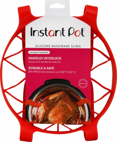 Instant Pot® Silicone Bakeware Sling - Red Perspective: front