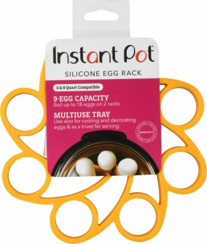 Instant Pot Multi-Use Silicone Egg Rack Perspective: front