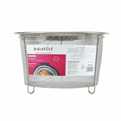 Instant Pot® Large Mesh Steamer Basket Perspective: front