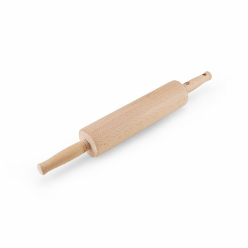Allrecipes Wood Rolling Pin Perspective: front